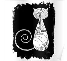 The Zentangle Cat Poster