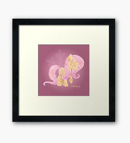 My Little Pony: Fluttershy Framed Print