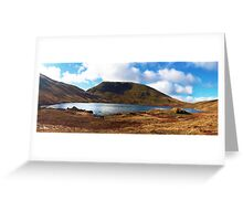 Grisedale Tarn in the Lake District National Park, UK Greeting Card