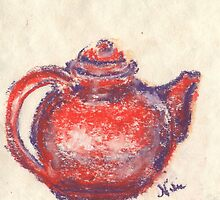 Little Teapot (Pastel) by Niki Hilsabeck