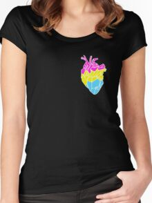 Perfectly Pansexual Women's Fitted Scoop T-Shirt