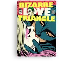 Bizarre Love Triangle | Squad Edition Canvas Print