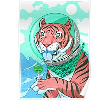 Space Tiger 2 Poster