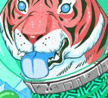 Space Tiger 2 Sticker