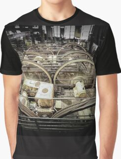 Winding Wheels Graphic T-Shirt