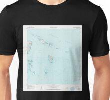 USGS TOPO Map Puerto Rico PR Cayo Icacos 362077 1958 20000 Unisex T-Shirt