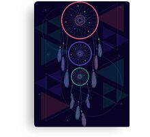 Psychedelic Dream Catcher Canvas Print