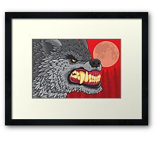 Night of the Werewolf Framed Print