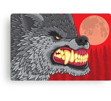 Night of the Werewolf Canvas Print