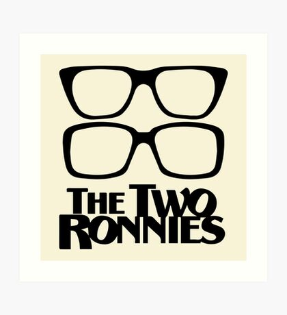 The Two Ronnies Art Print
