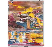 Yellow sail iPad Case/Skin