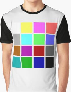 CGA colors Graphic T-Shirt