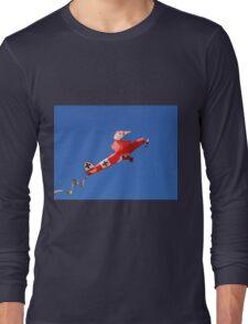 Red Baron biplane kite Long Sleeve T-Shirt