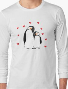 Penguin Partners - Vday edition Long Sleeve T-Shirt