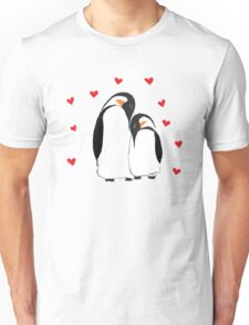 Penguin Partners - Vday edition Unisex T-Shirt
