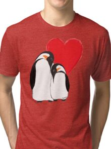 Penguin Partners - Vday edition 2 Tri-blend T-Shirt
