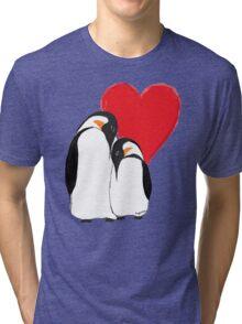 Penguin Partners - Vday edition 2 Tri-blend T-Shirt