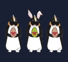 Easter Bunny-Penguin One Piece - Long Sleeve