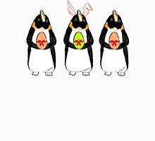 Easter Bunny-Penguin Women's Fitted V-Neck T-Shirt