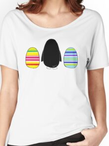 Penguins and Eggs Women's Relaxed Fit T-Shirt