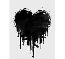 Dark Heart II Photographic Print