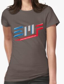 EMF Electro Beach Festival Womens Fitted T-Shirt