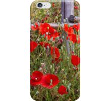 Field Poppies #2 iPhone Case/Skin