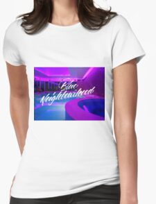 Troye Sivan Blue Neighborhood Poolside Womens Fitted T-Shirt