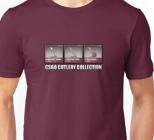 CSGO Cutlery Collection Unisex T-Shirt