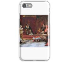 Laslett John Pott - Katherine of Aragon Denounced Before King Henry VIII  iPhone Case/Skin