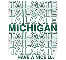 MSU Tailgate Poster