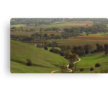 Barossa Valley - Rifle Range Road Canvas Print