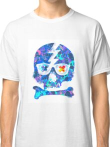 Psychedelic Skull by Pepe Psyche Classic T-Shirt