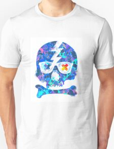 Psychedelic Skull by Pepe Psyche Unisex T-Shirt
