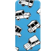 Hand drawn cute cars iPhone Case/Skin