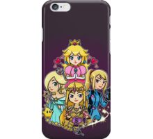 Peach, Samus, Rosalina & Zelda iPhone Case/Skin