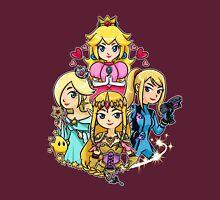 Peach, Samus, Rosalina & Zelda Unisex T-Shirt