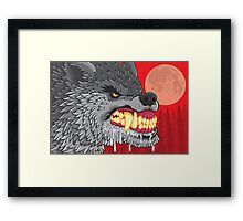 Night of the Rabid Werewolf Framed Print