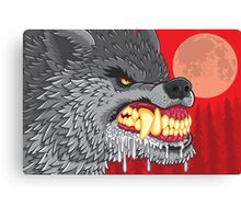 Night of the Rabid Werewolf Canvas Print