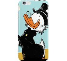 Uncle Scrooge on landscape iPhone Case/Skin
