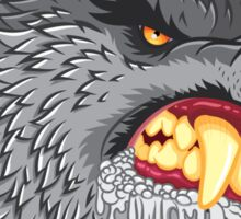 Head of the Werewolf Sticker