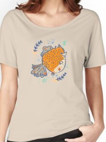 Pomfish Women's Relaxed Fit T-Shirt