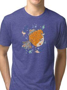 Pomfish Tri-blend T-Shirt