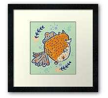 Pomfish Framed Print
