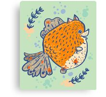 Pomfish Canvas Print