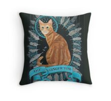 Pub Sign Series - The Ginger Tom Throw Pillow