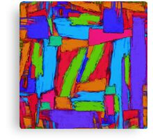 Sequential steps Canvas Print