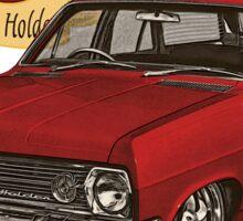 HR Holden Station Wagon - 50th Anniversary - Red Sticker