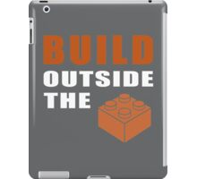 Build outside the brick iPad Case/Skin