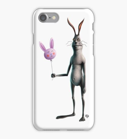 Rabbit & Balloon iPhone Case/Skin